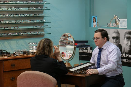 """The most important aspect of this business is the ability to apply my skills and experience to improve someone else's vision,"" said Eric Smith of Treasure Coast Opticians."