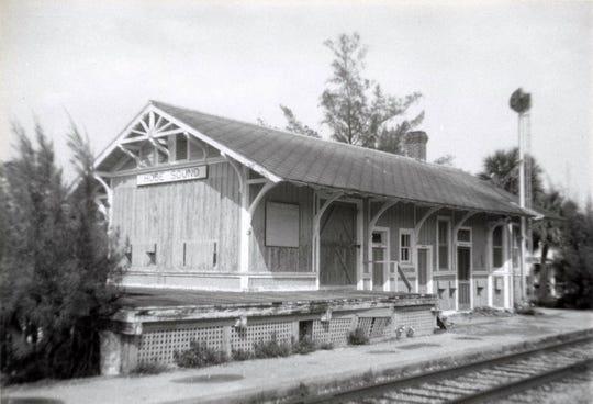 Hobe Sound Depot in the 1960s