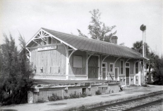 Hobe Sound Depot in the 1960s