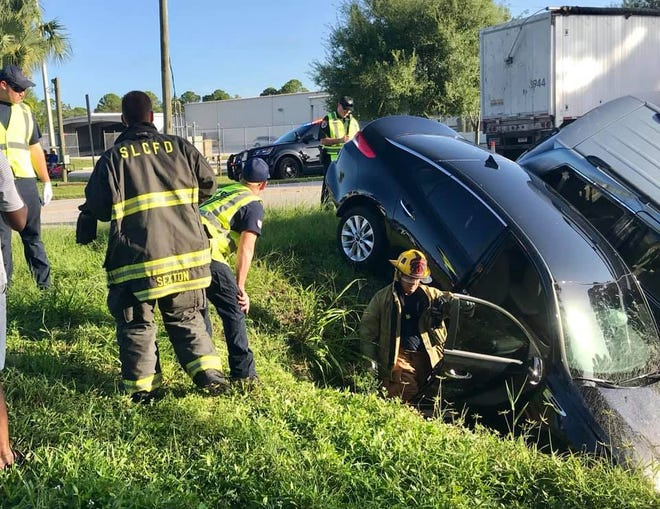 Two injured in morning crash