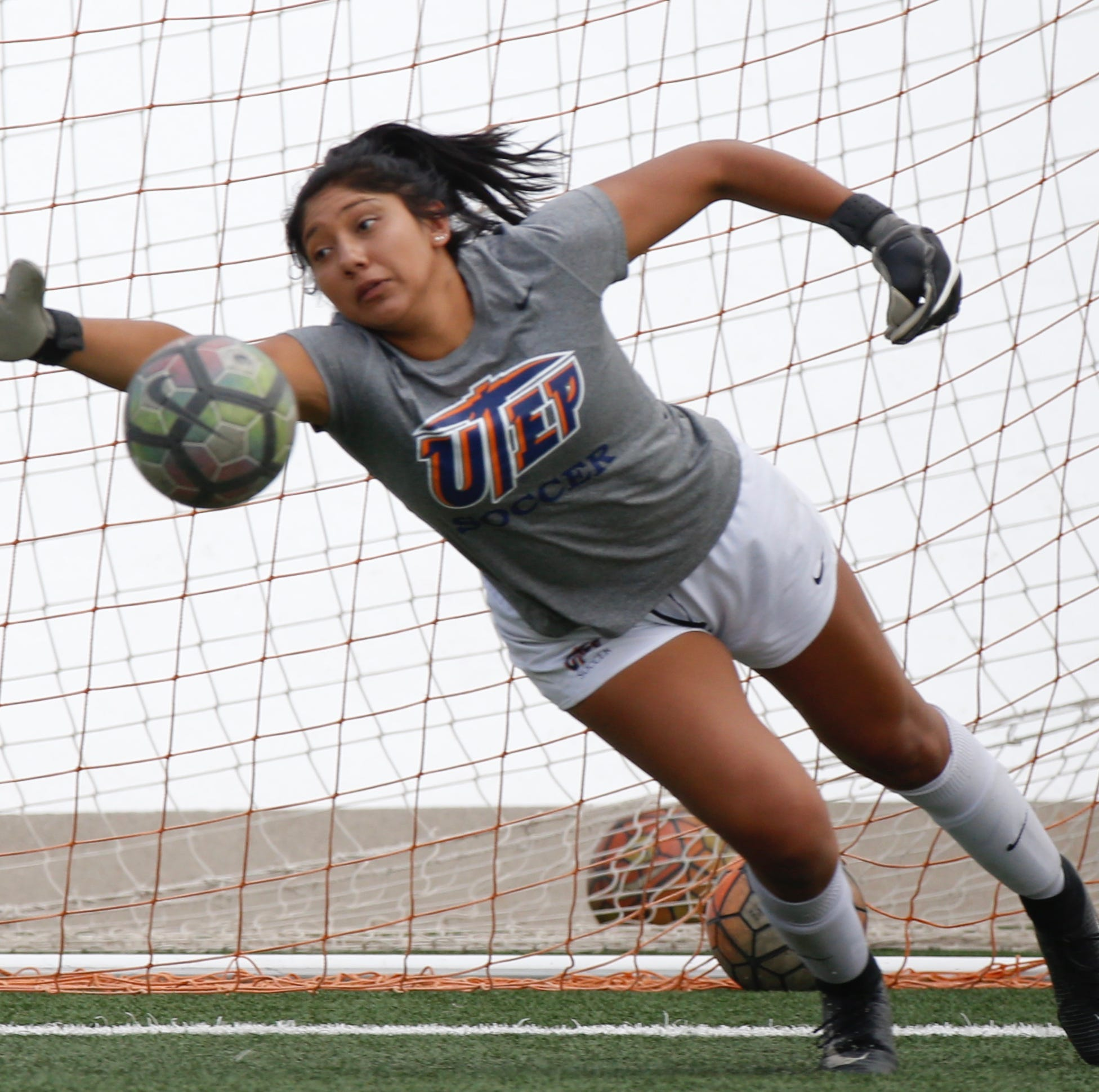 UTEP soccer goalkeeper Alyssa Palacios plays through back pain, medical procedures