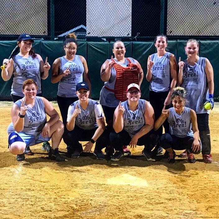 Softball: Oh Jeez wins inaugural VWSA title