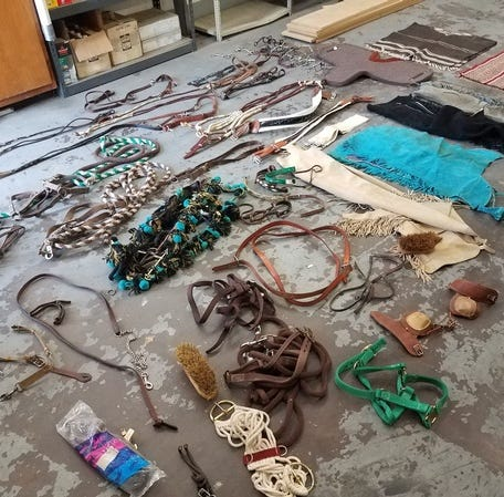 Missing some horse equipment? Tulare County deputies might have what you're looking for