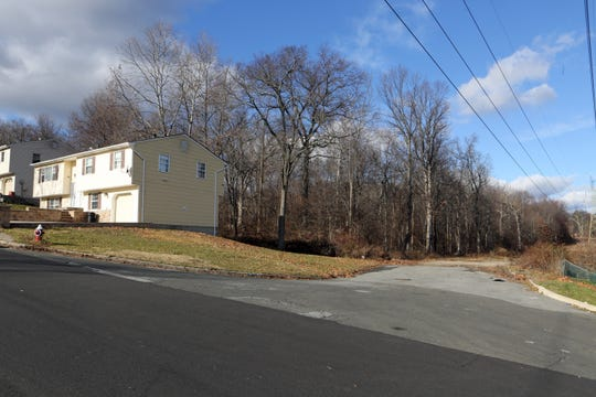Pascack Ridge, seen from Spring Brook Road in Clarkstown, photographed Dec. 2, 2016.