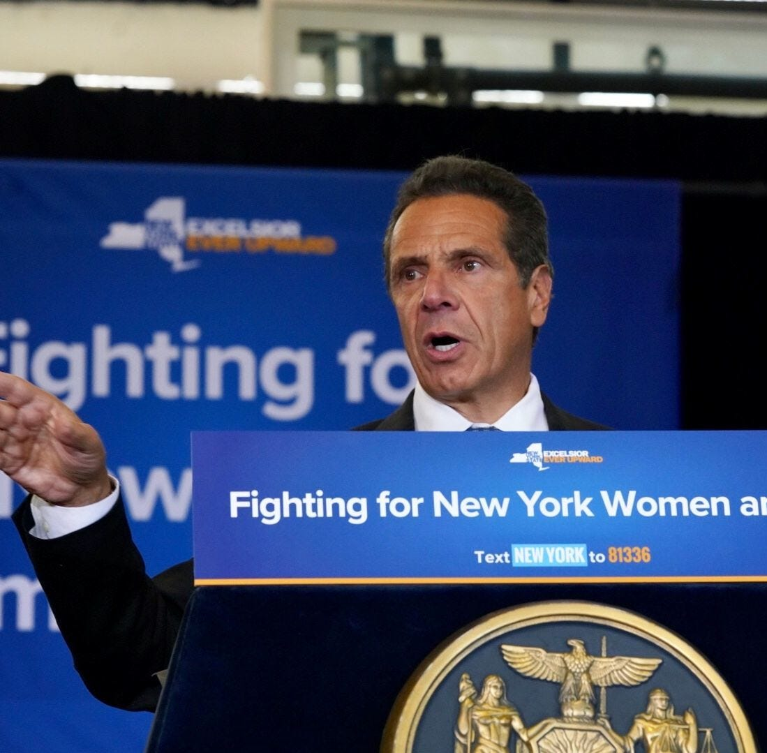 Why was Andrew Cuomo talking about America, anyway?