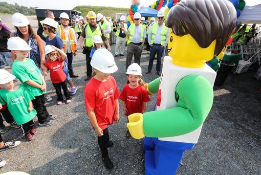 Legoland New York Construction Tour