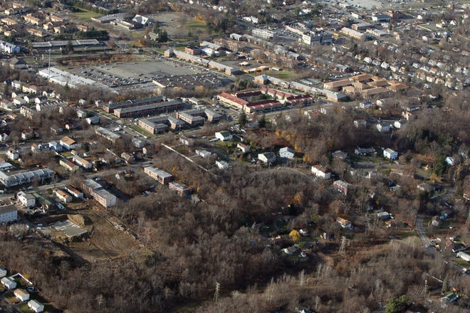 Proposed site of Pascack Ridge development, at Pascack Road and Ewing Street in a Dec. 2, 2016, photo.