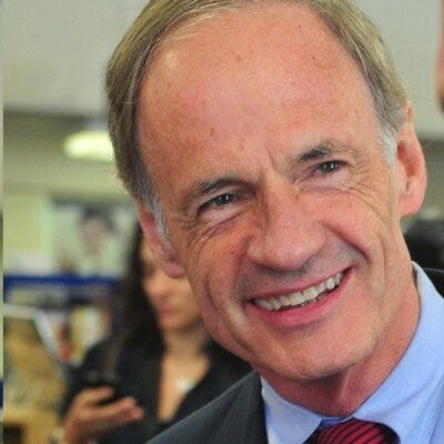 Tom Carper is a Democrat running for U.S. Senate.
