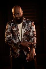 "Oba Jackson of Wilmington's PUSH Tattoo during his ""Ink Master"" shoot."