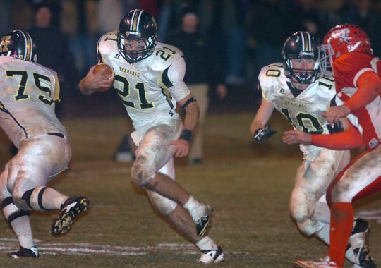 Seth Crumpton is Henrietta's all-time leading rusher after a three-year stretch as the team's quarterback.