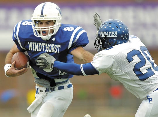 Windthorst' quarterback Brad Green played in two state title games and four state semifinals during his high school career.