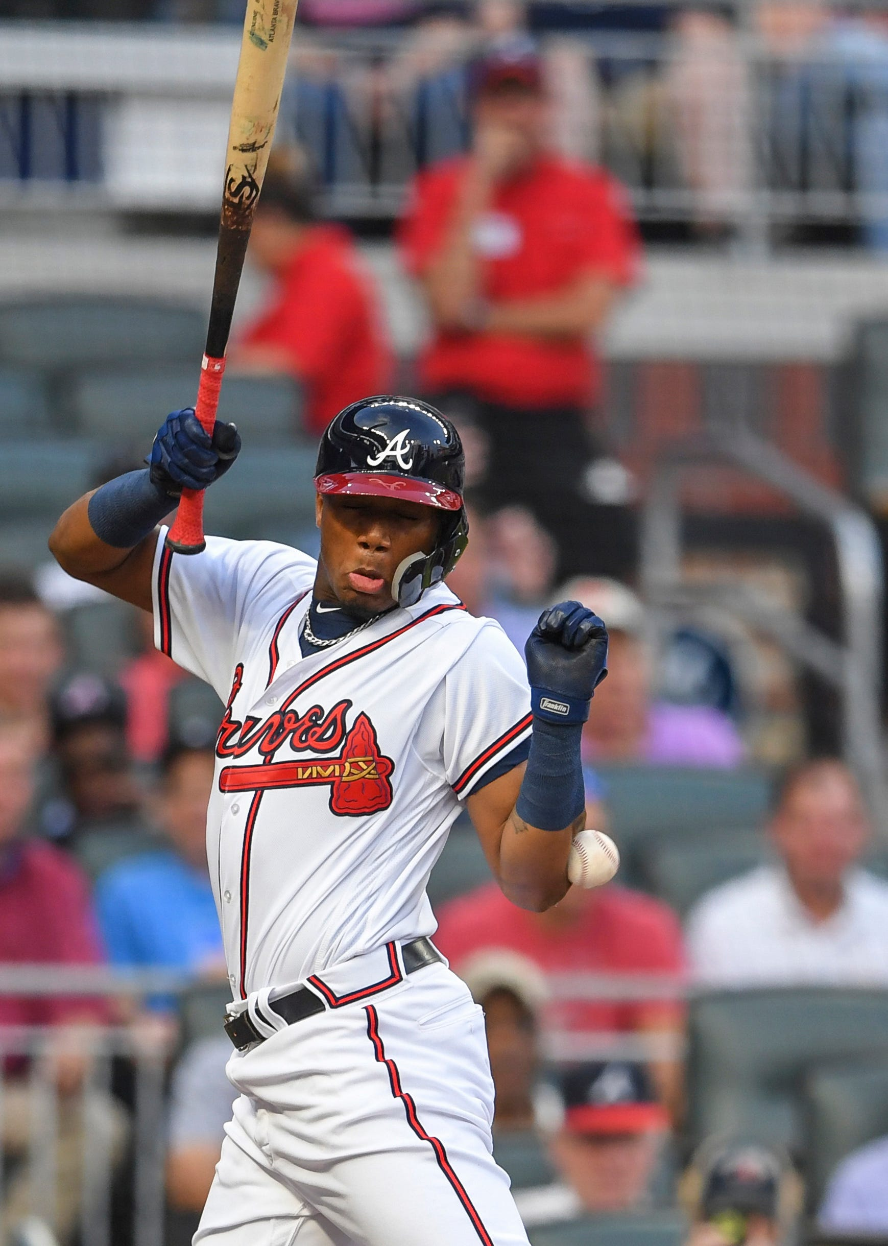 No rule - written or unwritten - excuses Jose Ureña's 'purpose' pitch to Ronald Acuña Jr.