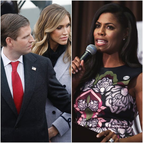 Omarosa Manigault Newman's newest secret recording features Eric Trump's wife Lara, who she says offered her a high-paying campaign job in exchange for her silence.