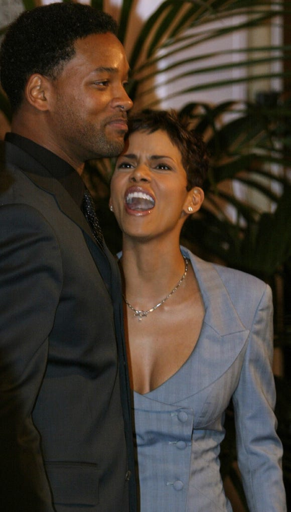 "Halle Berry and Will Smith have great photos together. And mashed-up ""together."""