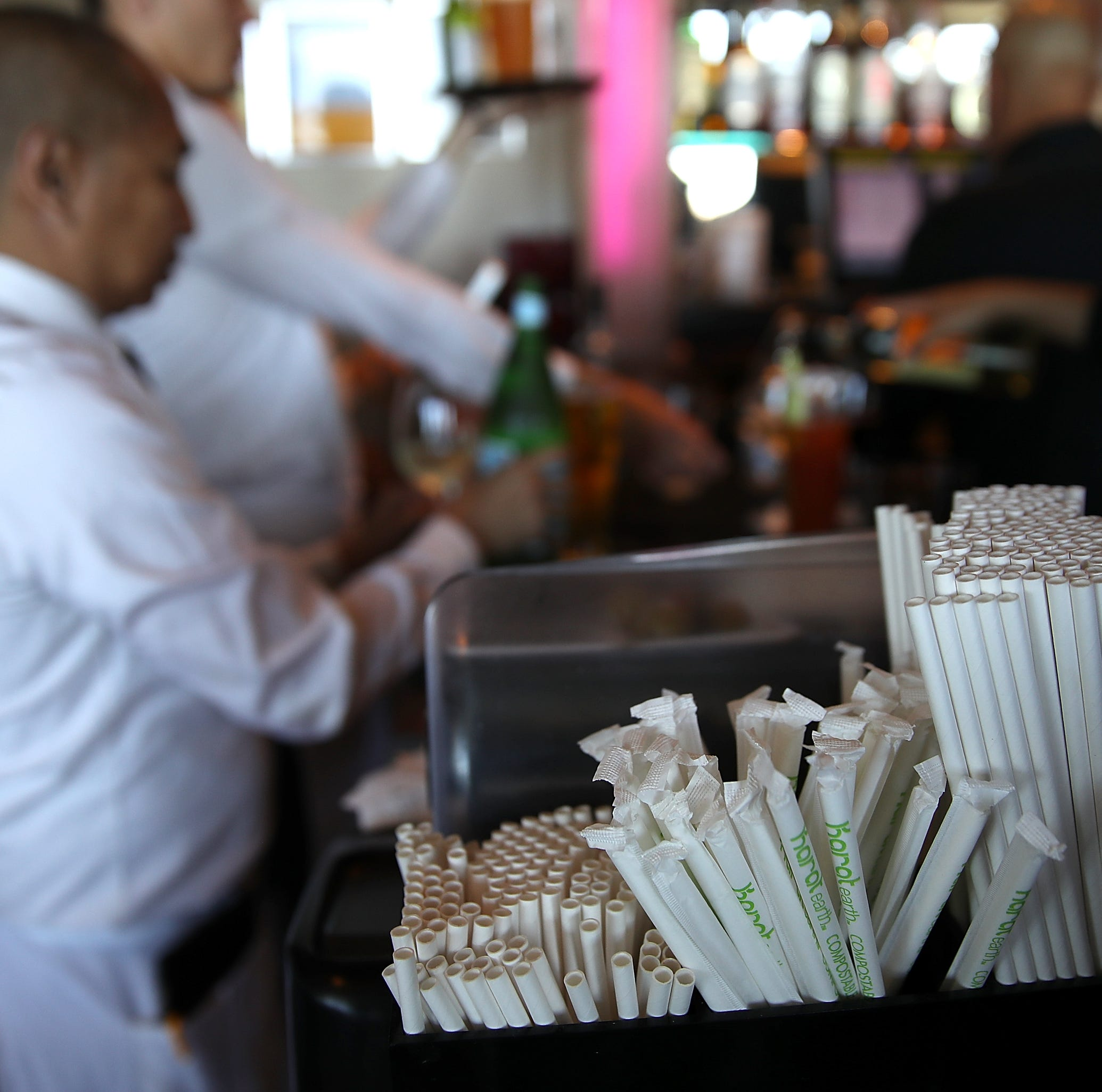 Cathedral City isn't banning plastic straws yet. But the conversation isn't over