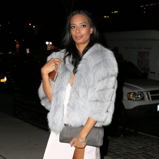 Uta Agent Trainee And Tv Personality Lyric Mchenry Attends Amfar Generationcure At Cadillac Lounge In New York City
