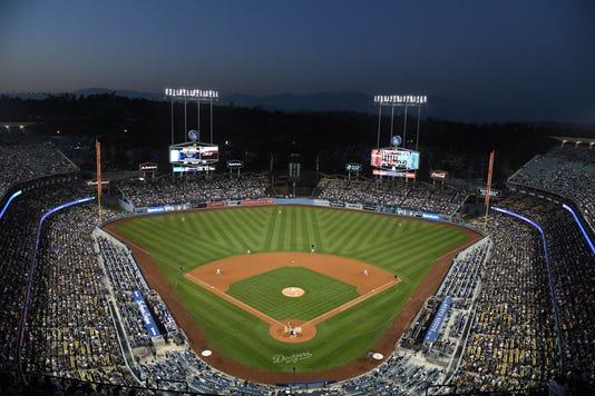 Mlb Arizona Diamondbacks At Los Angeles Dodgers