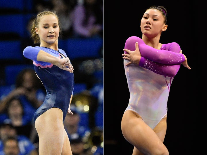 Olympic gymnasts Madison Kocian and Kyla Ross accuse Larry Nassar of sexual abuse