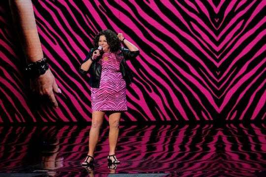 The joke's not on her: Comedian Vicki Barbolak learned Wednesday that she has advanced to the semifinals of 'America's Got Talent.'