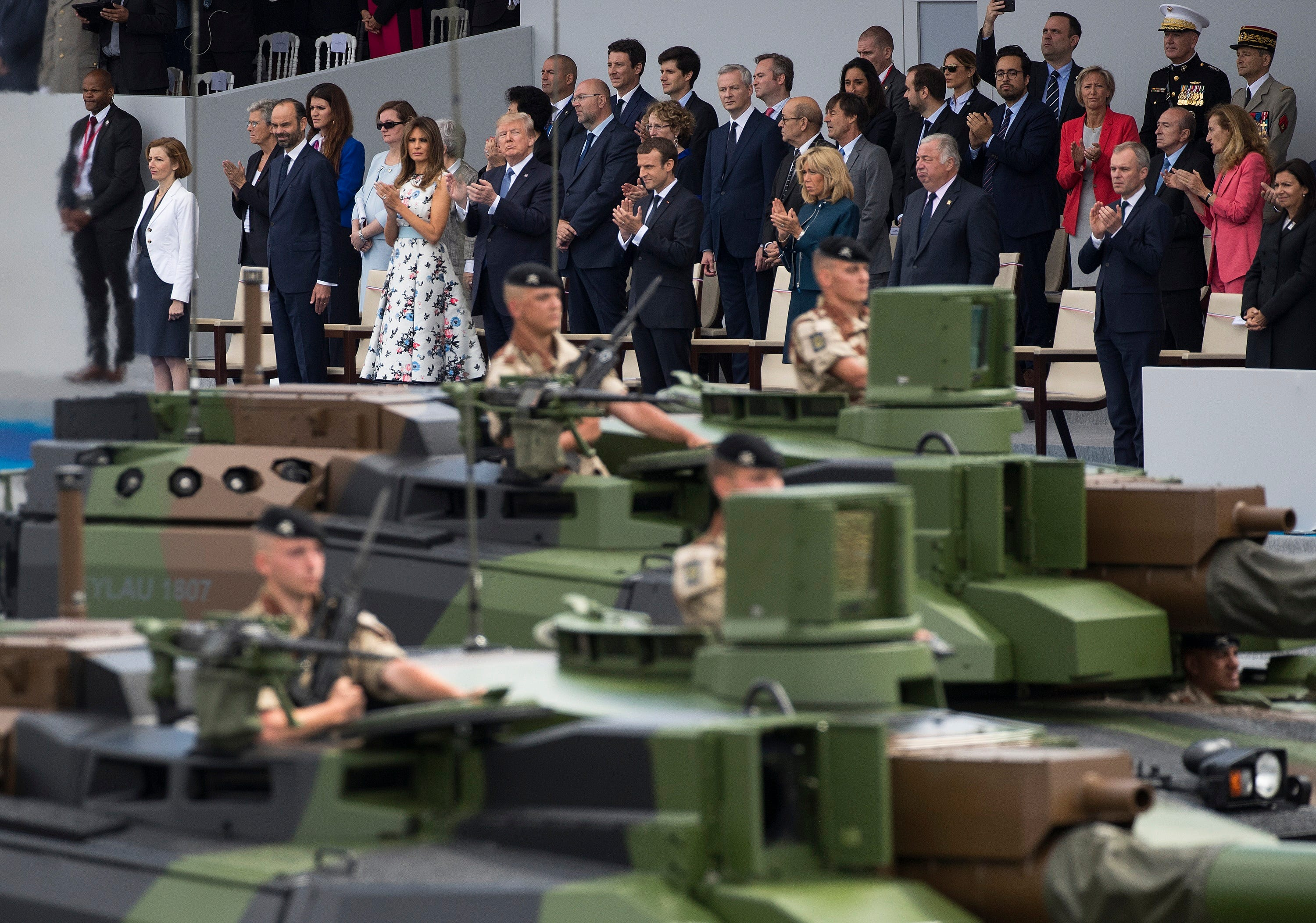 Estimated cost of Trump's military parade jumps 666%, reports say