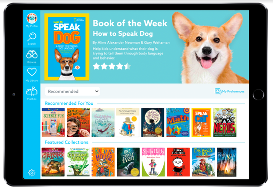 This app called Epic gives you access to more than 25,000 books, audiobooks and DIY videos for ages 12 and under. It costs less than $8 a month.