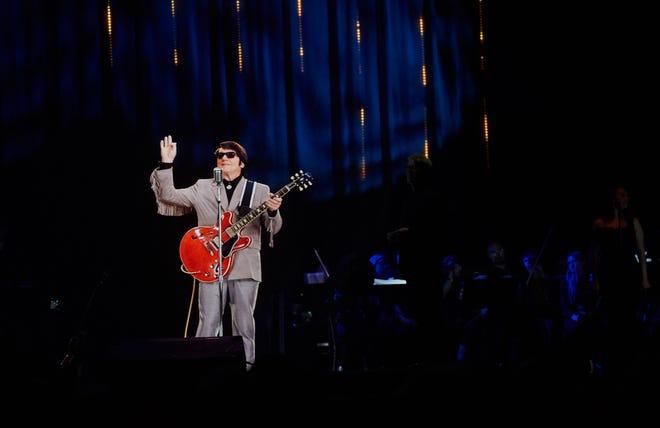 A hologram of Roy Orbison in concert on April 19, 2018, in London.