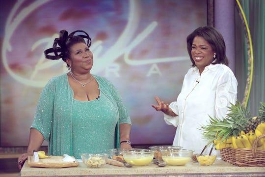Aretha Franklin Oprah Winfrey