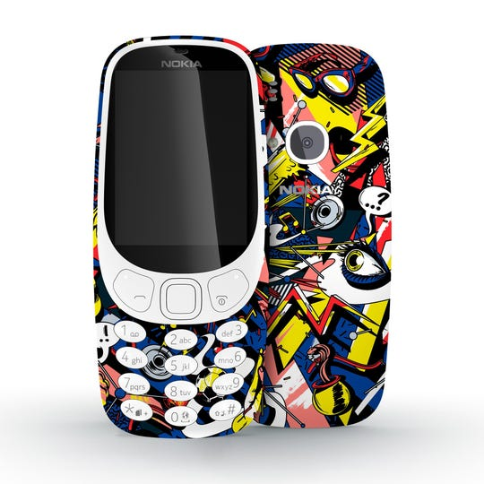 Go Old-School to save money on kids phones, such as this 3G Nokia 3310.