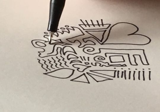 Research has found that doodling can be a meditation of a sort.