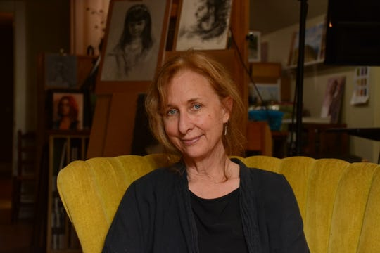 Nan Sherry in her studio.