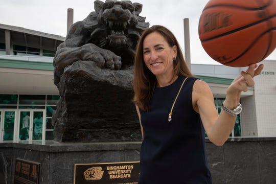 Binghamton University women's basketball coach Bethann Shapiro Ord inherits a team that went 20-12 last season.