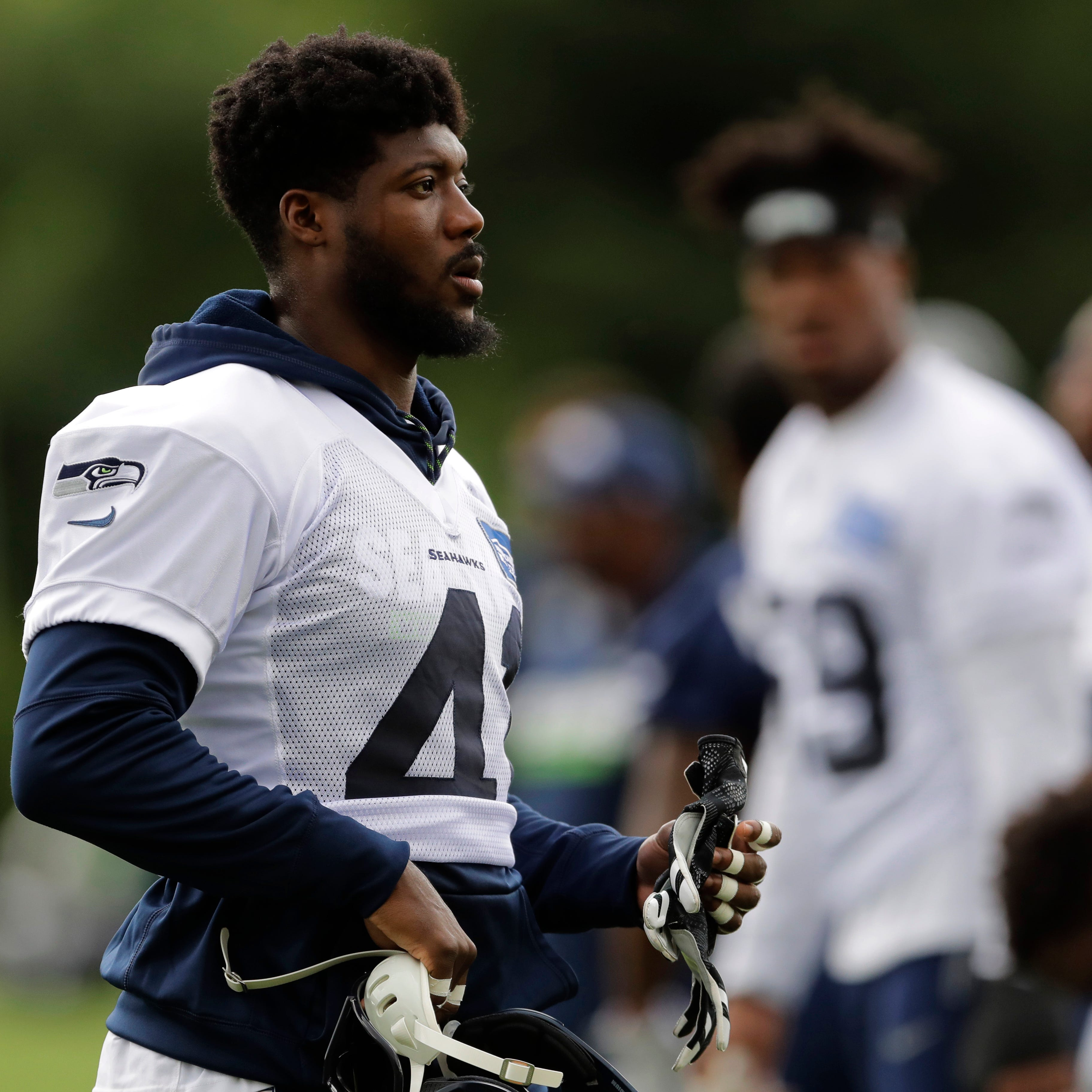 Three players competing for Seattle Seahawks' starting right cornerback spot