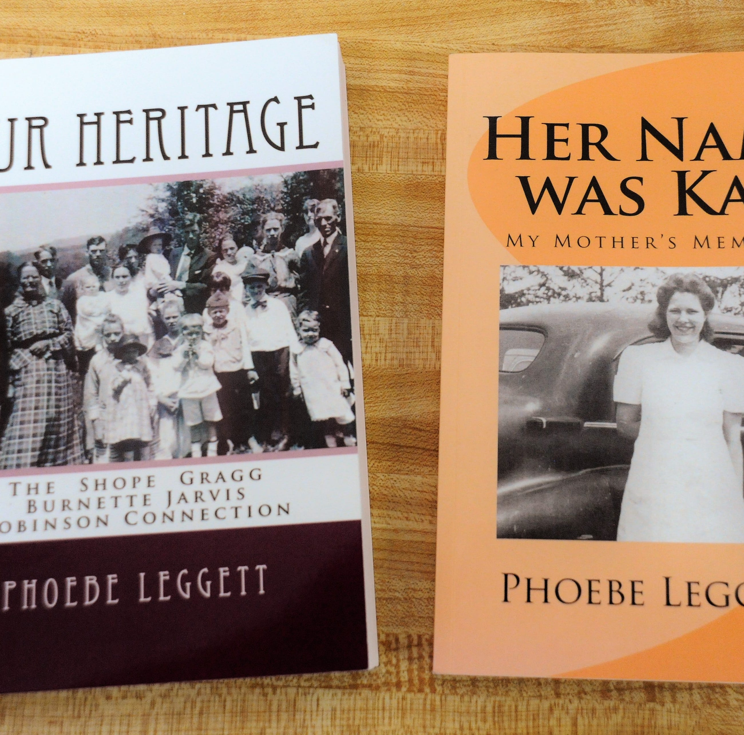Latest books by Phoebe Leggett bring her back to her Swannanoa Valley roots