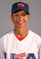 Pitcher Laura Collins, 44, comes back to make this year's Team USA squad after she last played on the gold medal-winning team in 2004.