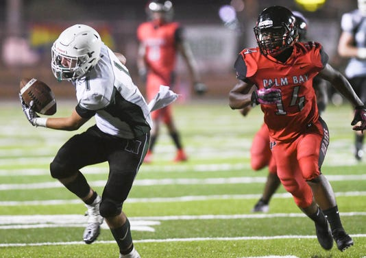 High School Football Melbourne At Palm Bay