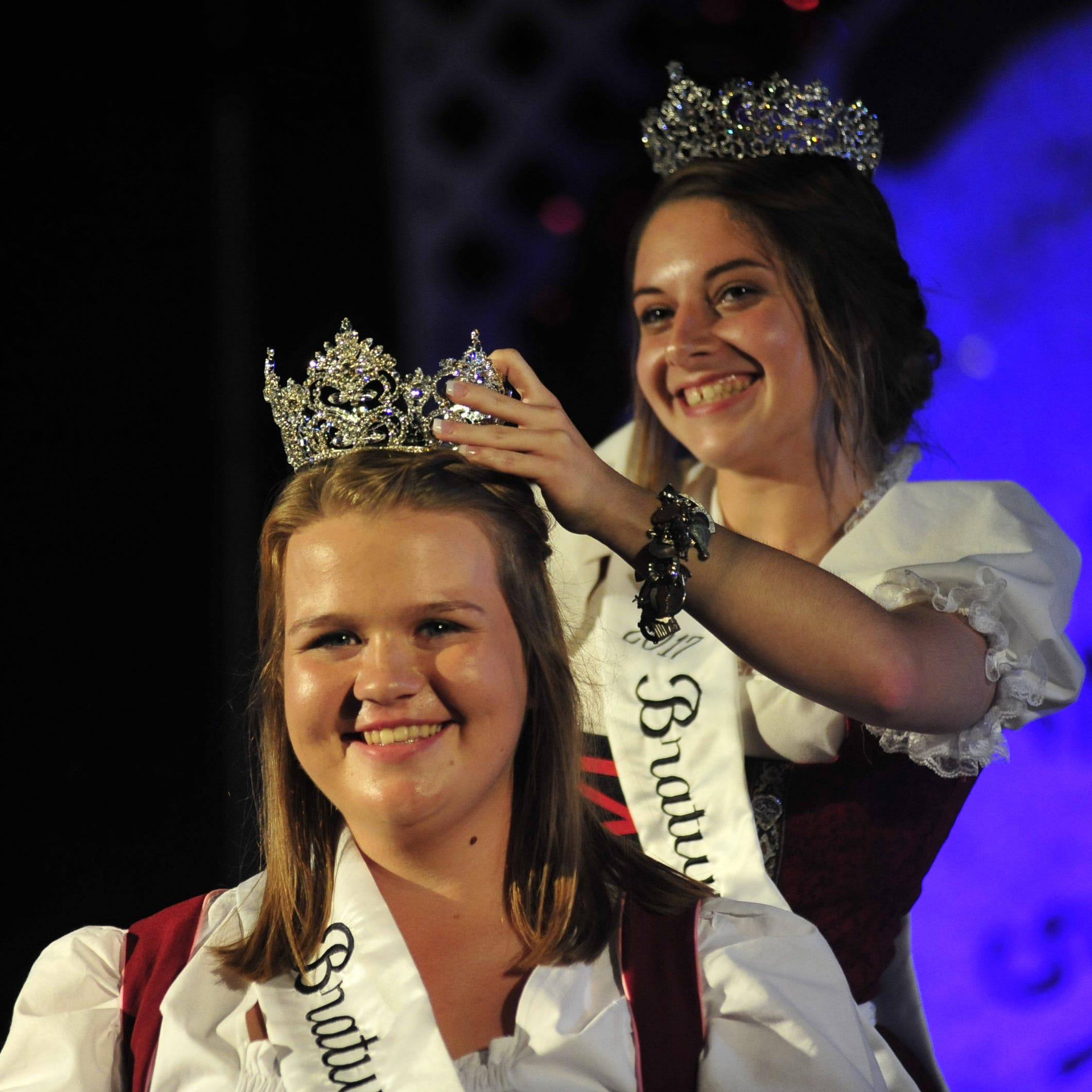 Emily Rudd named 2018 Bratwurst Festival Queen