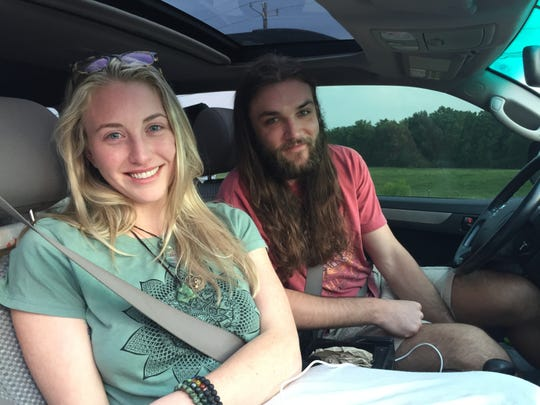 Christian Heiden and Mary Harmon of Alabama drove more than 15 hours to Phish's Curveball festival only to find out it was canceled.