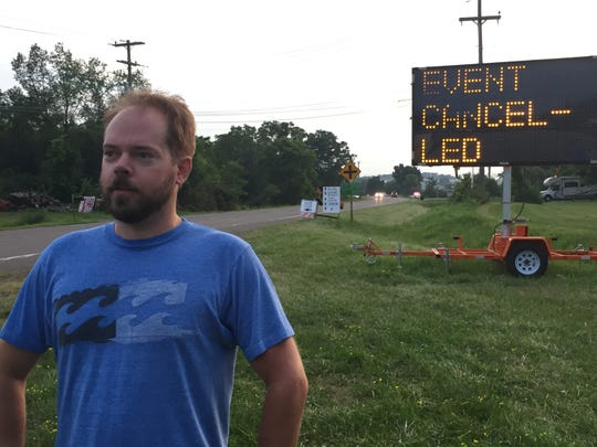 Patrick Leary drove from Stowe before learning Phish's festival in Watkins Glen, N.Y., had been canceled Aug. 16, 2018.