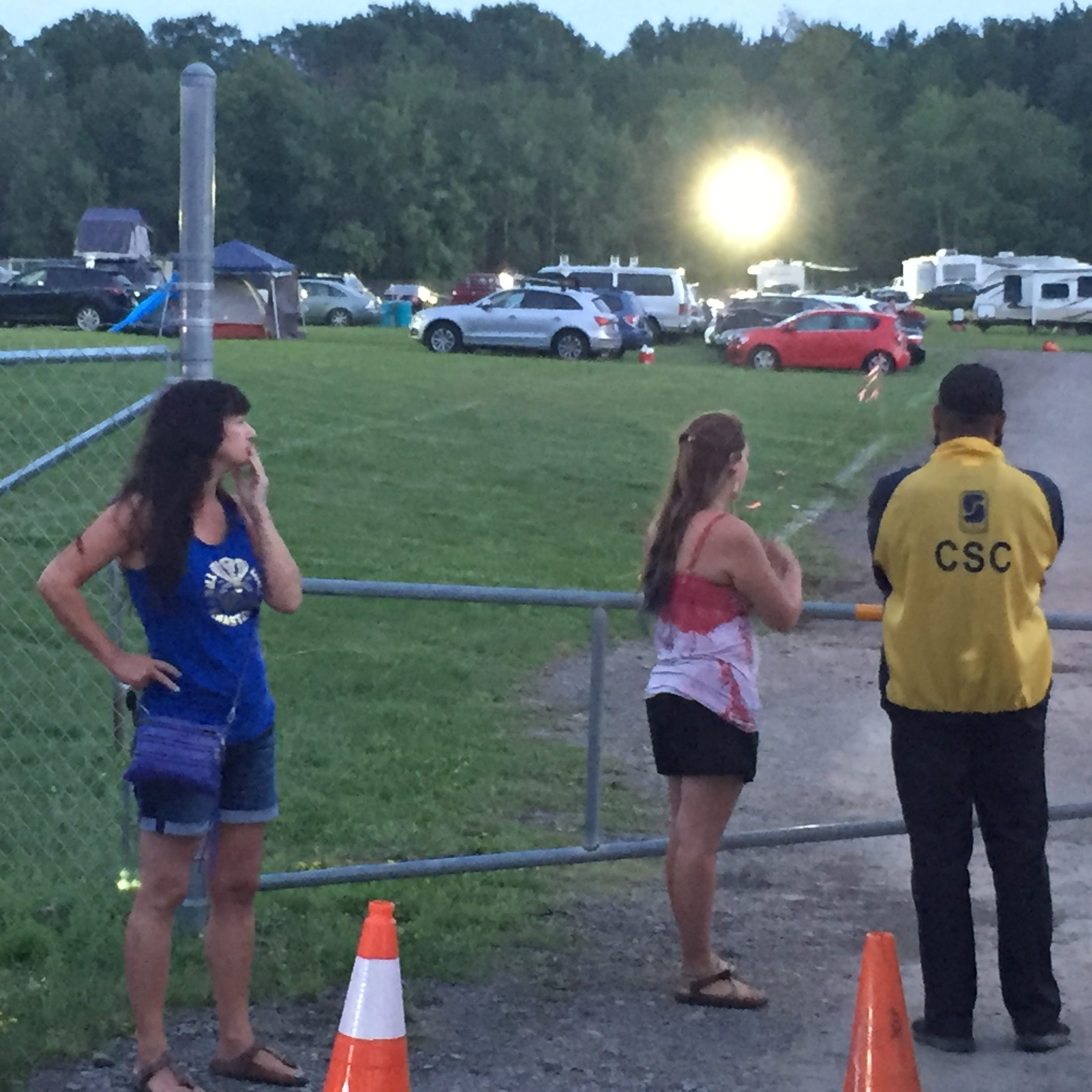 Curveball canceled: Phish fans turn around and hit the road