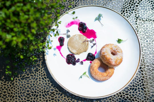 Donuts & foie from Porch & Proper Wednesday, Aug. 15, 2018 in Collingswood, N.J.