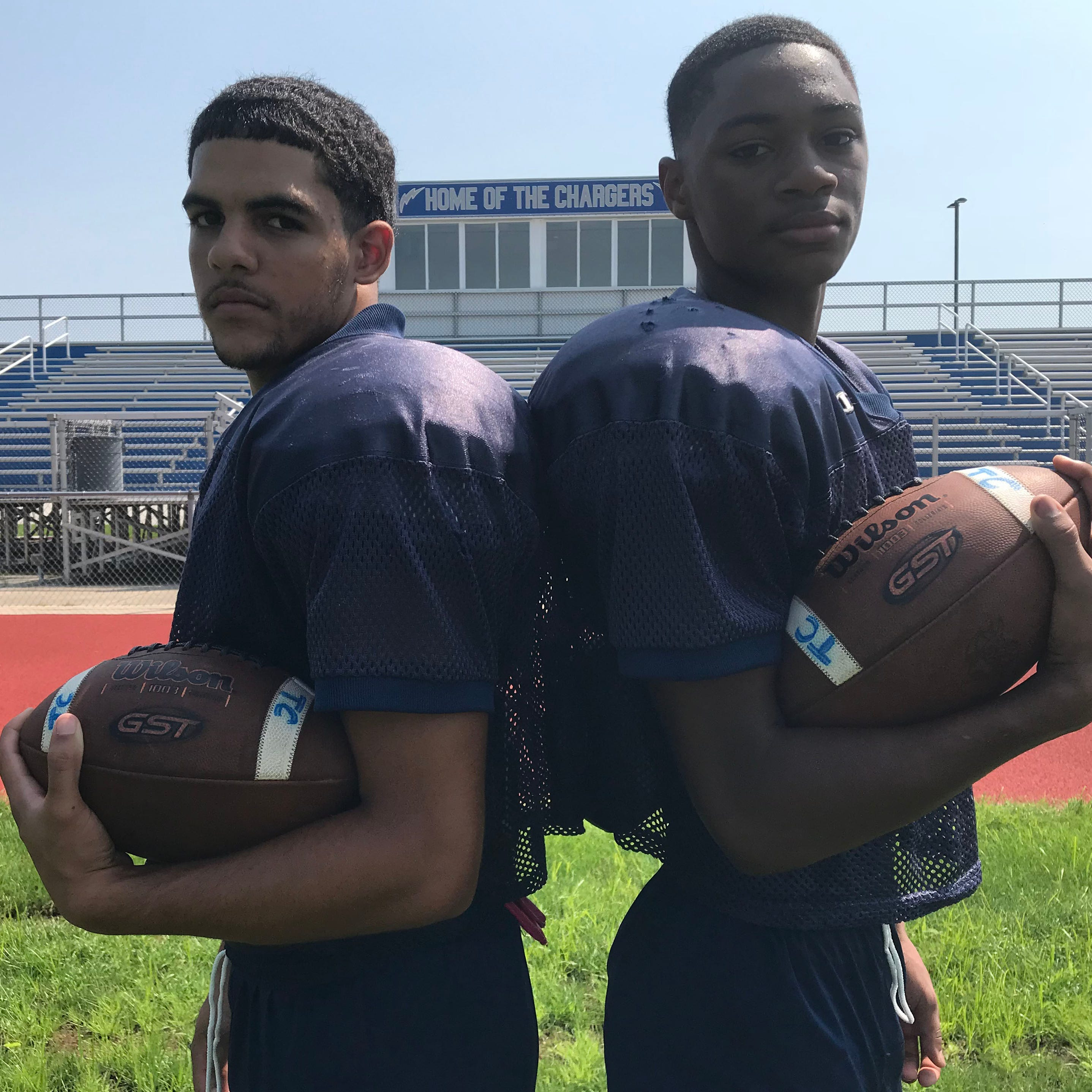 Timber Creek's Jayvin Little, Tarheeb Still could be best receiving duo in South Jersey