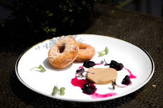 Donuts & Foie are a special dish at Porch & Proper in Collingswood.
