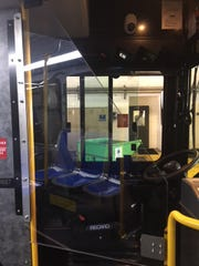 A prototype of a protective barrier for bus drivers