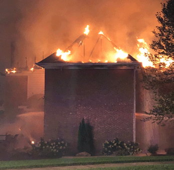 Lightning strikes Villa Hills home, sparking fire that destroys it