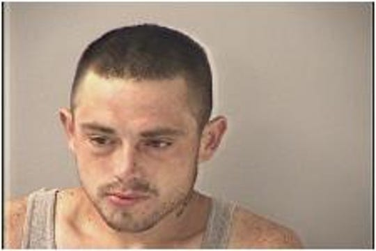 Harold Glen Snow, 28, address unknown, has been arrested on four charges of attempted murder after police say he struck three police cars and another driver's car in Kentucky during an 80-mile chase around Ohio and Campbell County.