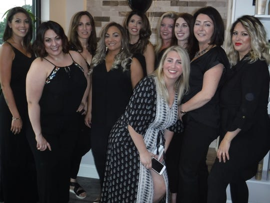 A-List Hair Studio, 2140 Route 130 in North Brunswick, in the Saint Clara Plaza, held a grand opening on Monday, Aug. 13.