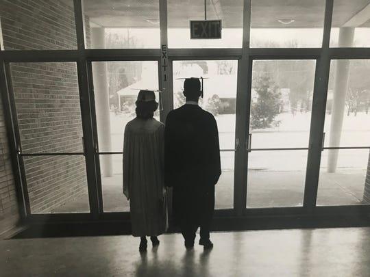 Scotch Plains Fanwood High School first grauduating class in 1954