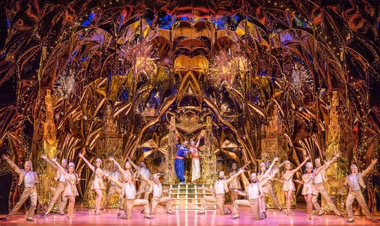 "Disney Theatrical Productions presents ""Aladdin."""