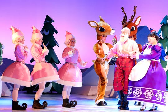 """Rudolph the Red Nosed Reindeer the Musical"""