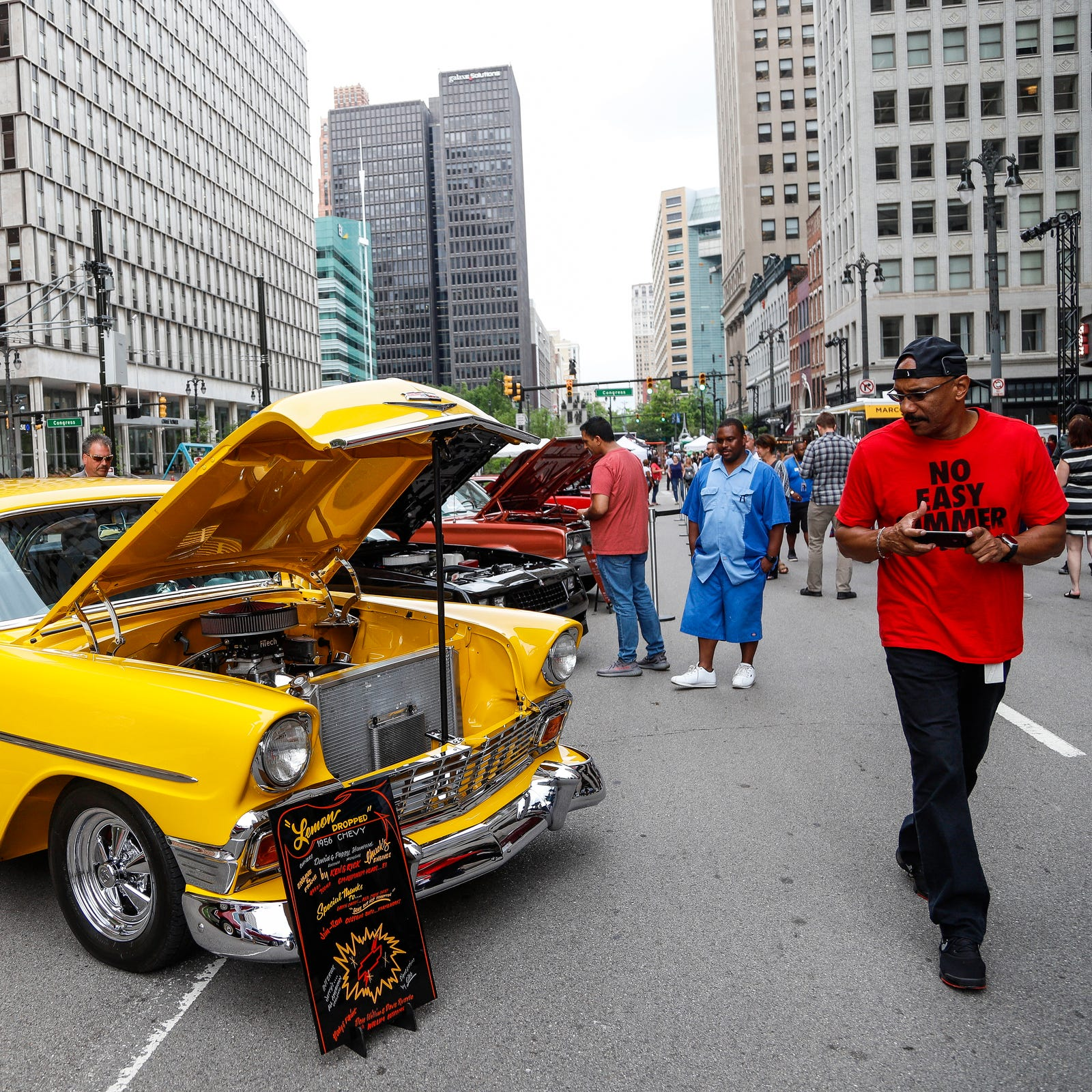Motor City Muscle music fest guns it in downtown Detroit